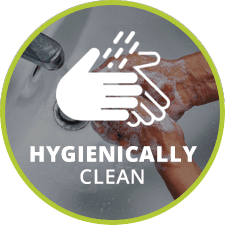 hygienically clean