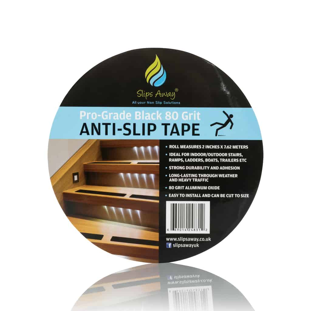 anti slip tape roll black