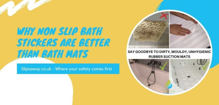 why non slip stickers are better than mats