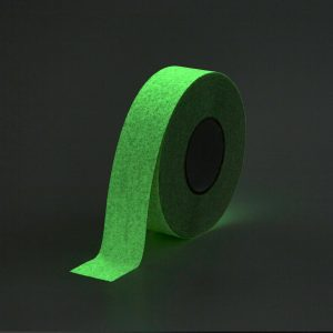Glow in dark anti slip tape