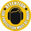 EWM12-Attention-Ear-Protection-Must-Be-Worn-Floor-Sign